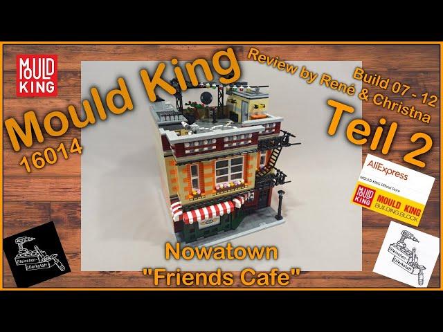 TBBT und Friends Modular vereint   Teil 2 & Review   Brickpolis & Mould King   16014 Friend Cafe