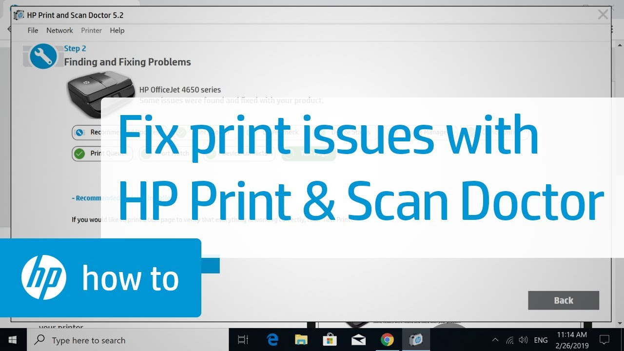 Official Hp Print And Scan Doctor For Windows Free Download Hppsdr Exe