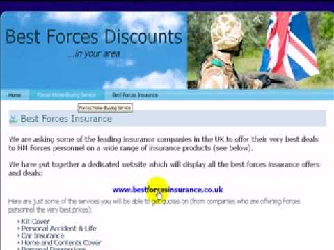 best forces discounts,armed forces insurance,army insurance