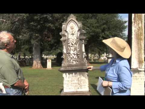 Grave Markers Workshop Oak Grove Cemetery with Nancy ...