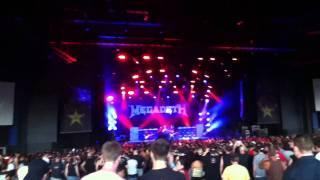 Megadeth - Wake up Dead @ Mayhem fest 2011 Camden