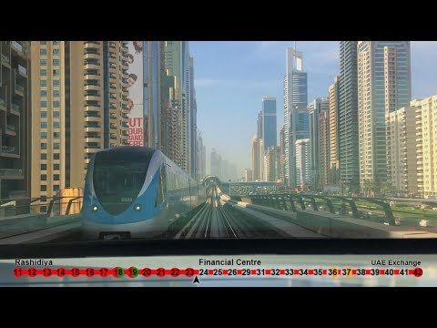 Dubai Metro,  Red Line, Rashidya-UAE Exchange