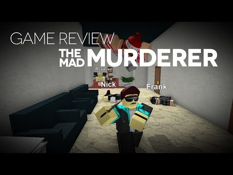 Game Review - The Mad Murderer