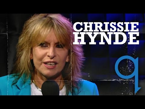 The Pretenders' Chrissie Hynde in studio q