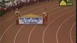 The 1999 Eight South Asian Games - Opening Clip - Kathmandu