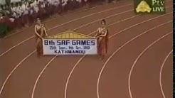 The 1999 Eight South Asian Games - Opening Clip - Kathmandu