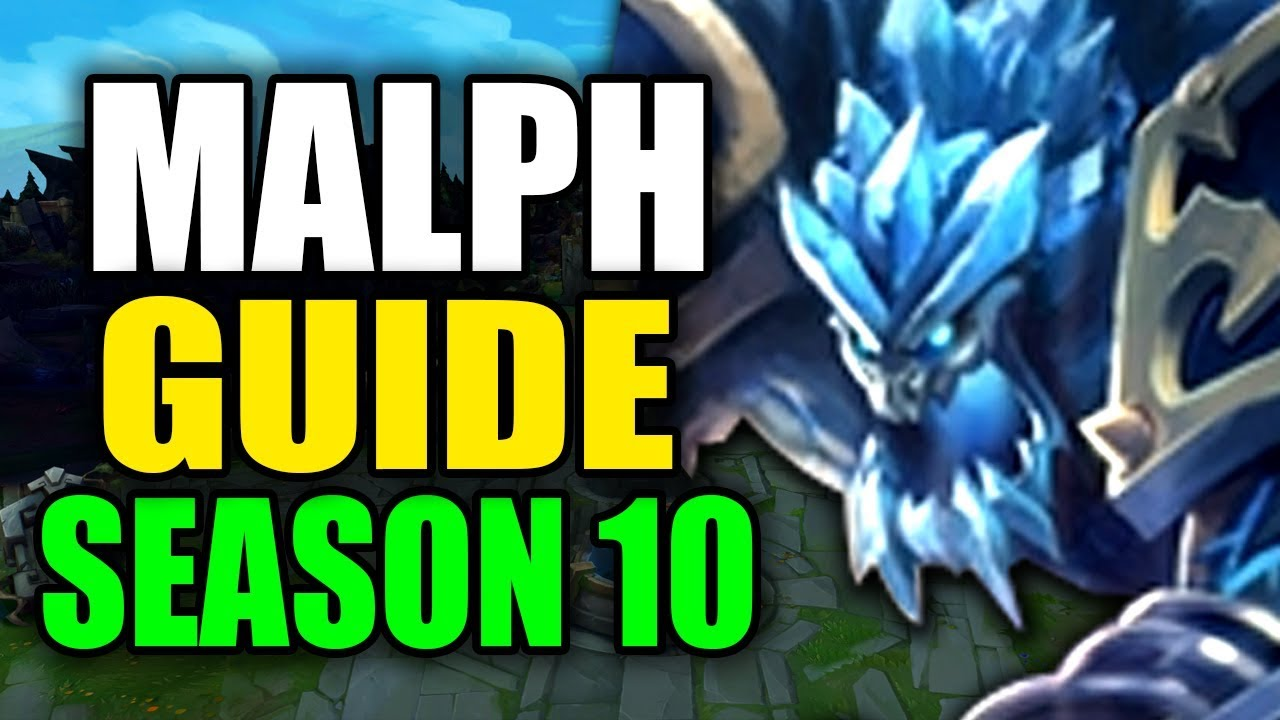 SEASON 10 MALPHITE GAMEPLAY GUIDE – (Best Malphite Build, Runes, Playstyle) – League of Legends