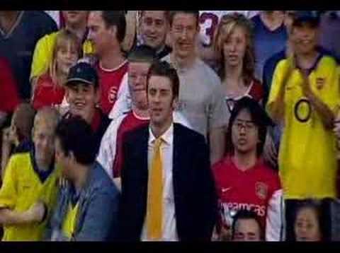 Martin Keown Testimonial - Keown's penalty miss