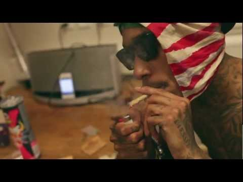 Wiz Khalifa - Bed Rest Freestyle (Official Video 1080p) [Produced By Sledgren]