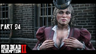 Huge Haul At The Bank Heist - Part 24 - Red Dead Redemption 2 Let's Play Gameplay Walkthrough