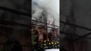 שריפה ביפו עם לכודים