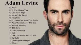 best of adam levine collection adam levine greatest hits playlist music collection