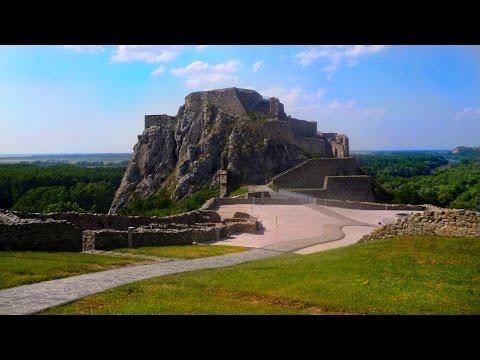 Devín Castle near Morava and Danube