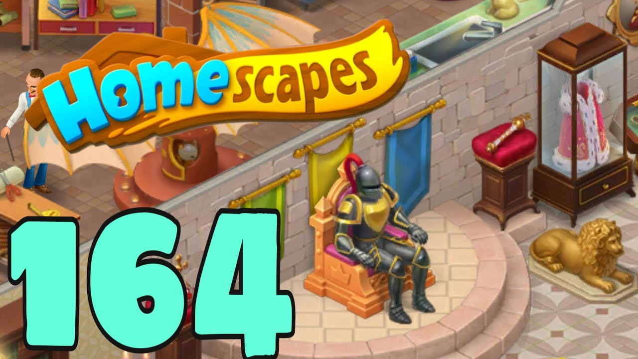 HOMESCAPES - Gameplay Walkthrough Part 164 - Chamber of Wonder Day 4
