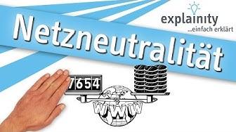 Netzneutralität einfach erklärt (explainity® Erklärvideo)