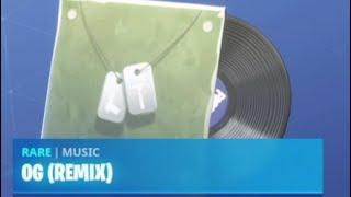 Fortnite Music Glitch