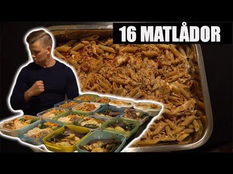 MEALPREP BULK 16 MATLÅDOR