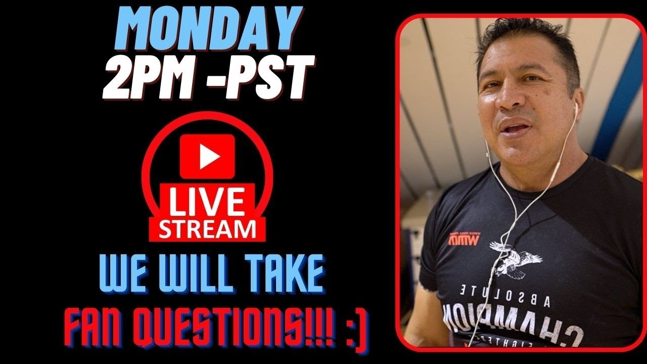 Coach Javier Mendez Live Stream Podcast #3 Post Bellator 263