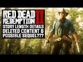 Red Dead Redemption 2 | Huge New Info Teaser Main Story Length, Possible Sequel & Deleted content!