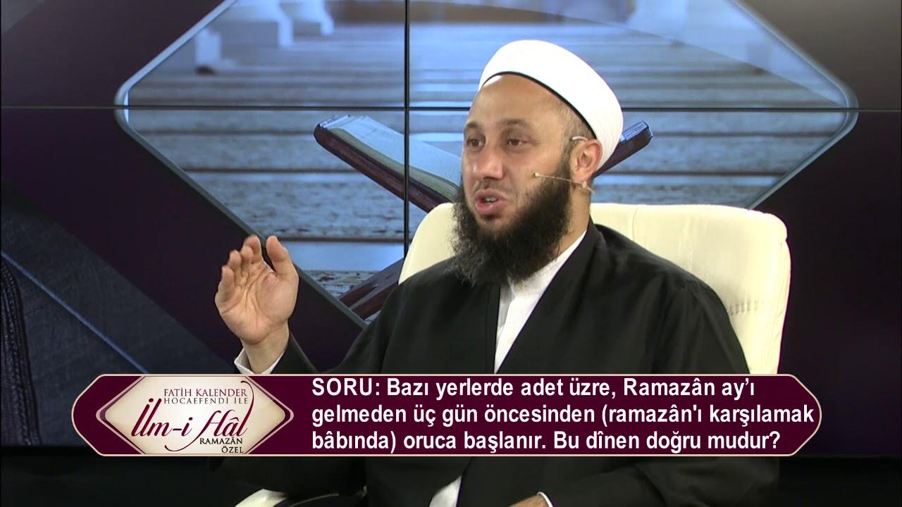 23-Ramazân ayı girmeden üç gün öncesinde ramazân'ı karşılama bâbında oruca başlamak dînen doğru