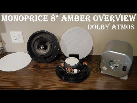 Monoprice Amber Dolby Atmos Speaker Overview and Install In
