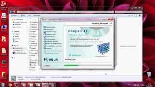 Repeat youtube video Abaqus 6.13 Kurulum (1080p izleyin)