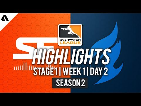 Dallas Fuel vs SF Shock | Overwatch League S2 Highlights - Stage 1 Week 1 Day 2 thumbnail