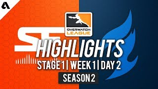 Dallas Fuel vs SF Shock | Overwatch League S2 Highlights - Stage 1 Week 1 Day 2