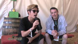 ONE OK ROCK ~ Interview ~ Aftershock 2015 on ROCK HARD LIVE