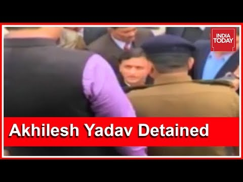 Akhilesh Yadav Alleges BJP Hand After He Is Detained In Lucknow Airport