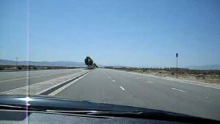 Musical Road in Lancaster, CA at 100mph