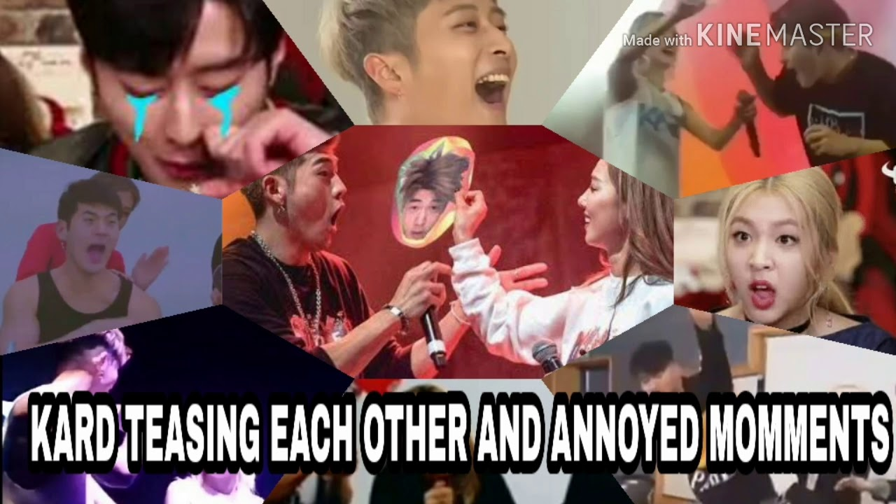 KARD Annoy Each Other