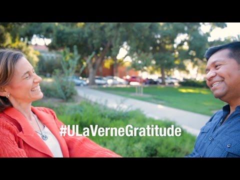 Gratitude Practice 2015 - University of La Verne #ULaVerneGratitude