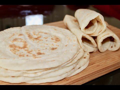 Best Homemade Tortillas Recipe | Afghan Chapati  | Noon Lawash Chapati | افغانی نان چپاتی