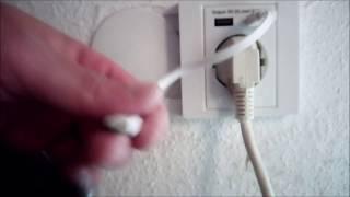 Installationsanleitung für eine Steckdose mit 2 USB-Anschlüssen - Schluss mit Kabelsalat/Ladegeräten