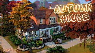 Осенний дом I Строительство I Autumn House I SpeedBuild I No CC [The Sims 4]