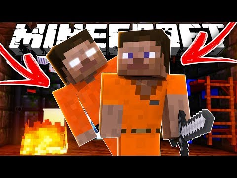 Thumbnail: Steve Goes to Prison (Minecraft Mini Movie)