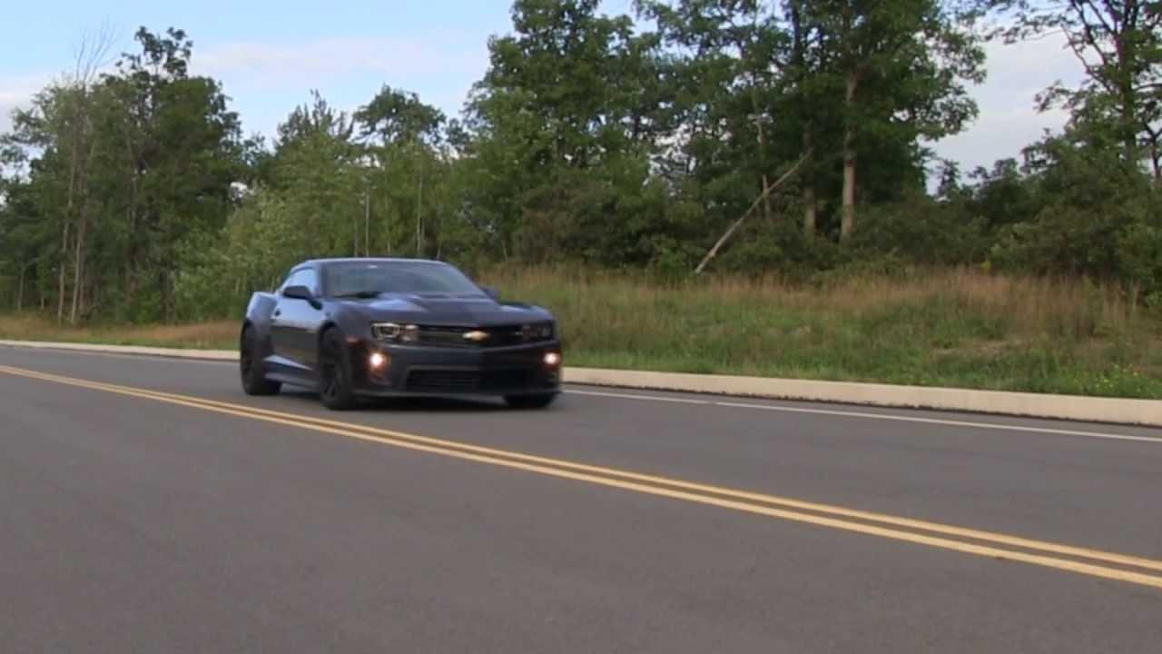 2014 Camaro Zl1 Test Drive And Vehicle Punishment Allen