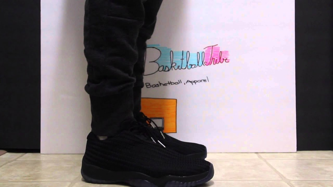 7f4794d212bc Jordan Future Low Review With Jeans   Joggers - YouTube