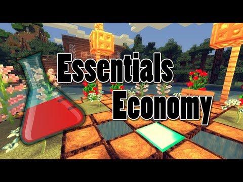 EssentialsEco: Essentials Economy - Best Economy Plugin for