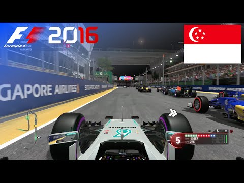 F1 2016 - 100% Race at Marina Bay Street Circuit, Singapore