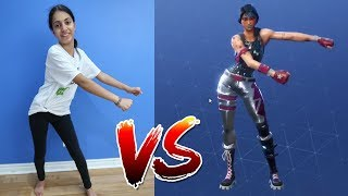 FORTNITE DANCE CHALLENGE in REAL LIFE! Kinder Video