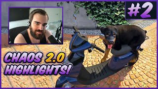 The BEST of Twitch Controls GTA V Chaos 2.0! (Chat Randomly Mods The Game) - #2