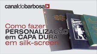 impressao capa dura silk screen