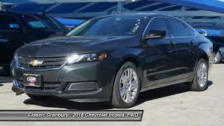 2018 Chevrolet Impala Granbury TX, Weatherford TX, Cleburne TX 123342