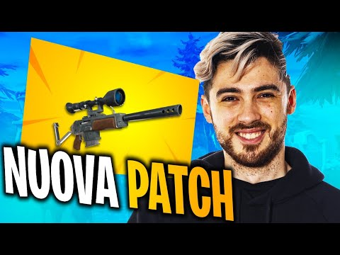 NUOVA Patch di FORTNITE! Torna il CECCHINO SEMIAUTOMATICO! | FORTNITE ITA
