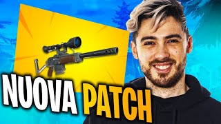 NOUVEAU PATCH de FORTNITE! Le SEMIAUTOMATIC CECCHINO est de retour! ITA FORTNITE