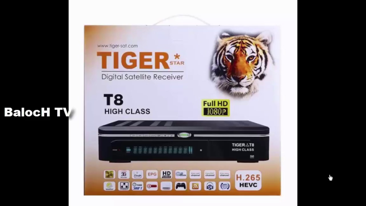 Tiger T8 High Class New Software PowerVu Ok 25/04/2018