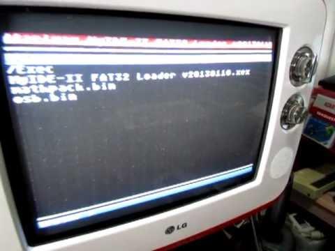 Demonstração rápida do cartucho MyIDE-II para Atari 8-bit