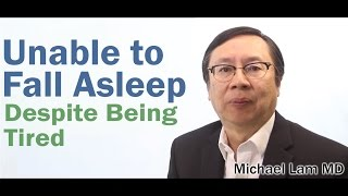 Sleep Onset Insomnia prevents sleep in Adrenal Fatigue